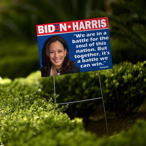 "Kamala & Biden Yard Sign |2020 Election | Political Sign | Vote | Anti-Trump | 24""x 18"""