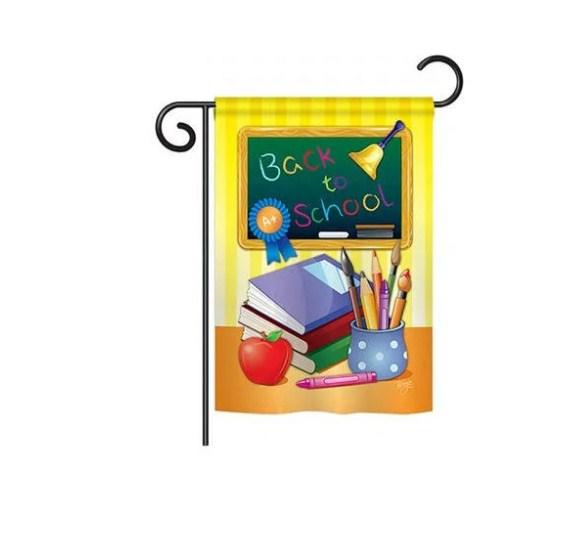 Breeze Decor Back to School Vertical Flag