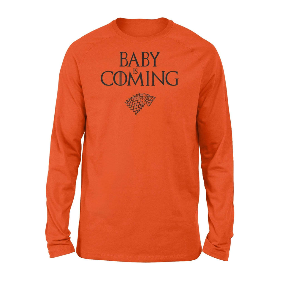 Baby is coming - Standard Long Sleeve - Family Presents