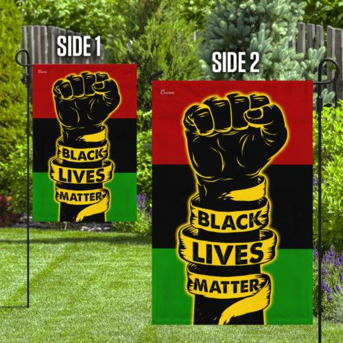 Black Lives Matter Flag - Garden Flag House Flag