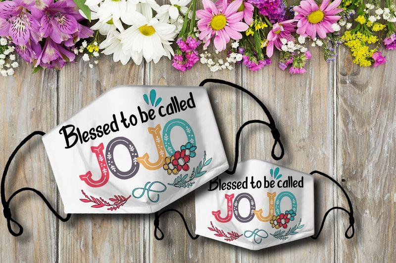 Blessed to be called JOJO Cloth Mask