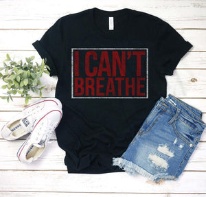 I Can't Breathe Shirt / I Cant Breathe T-Shirt / Black Lives Matter Shirt / Stop Killing Us Tee / Protest Against Police Brutality Shirt