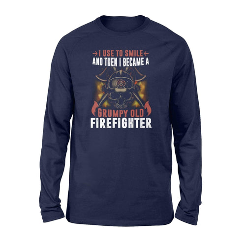 Grumpy Old Firefighter Long Sleeve - Family Presents