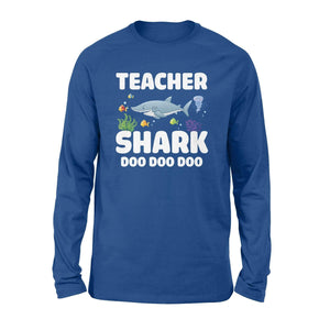 Teacher Shark Long Sleeve - Family Presents