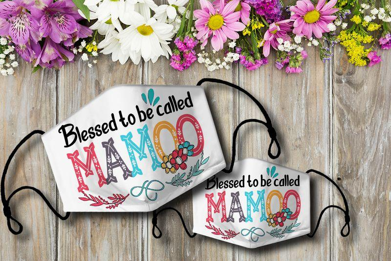 Blessed to be called  MAMOO Cloth Mask