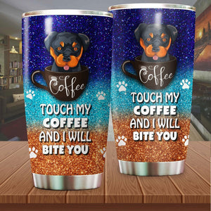 Rottweiler Coffee Stainless Steel Insulated Tumbler Cups