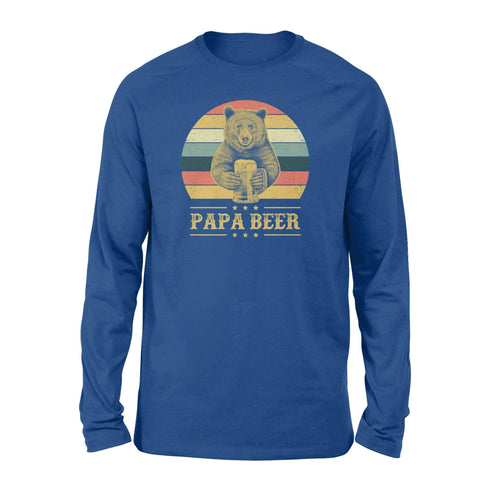Papa Beer Long Sleeve - Family Presents