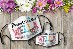 Blessed to be called WELLA Cloth Mask