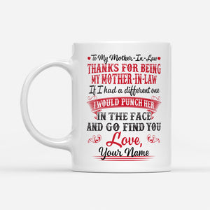 Mother-in-law - White Mug