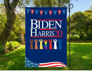 Garden Wall House Flag - Biden Harris 2020Joe Biden Kamala Harris 2020 (ONLY FLAG)