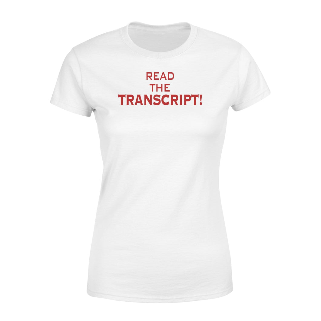 Read the Script - Standard Women's T-shirt - Family Presents