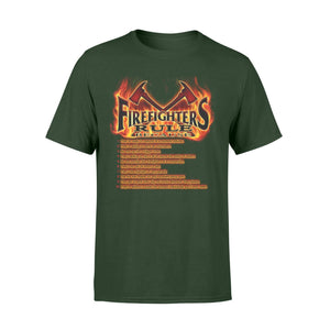 Firefighters Rule Standard T-shirt - Family Presents