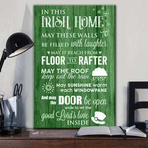 In This Irish Home Canvas