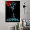 (LL75) Customizable Wolf Canvas - I'm a good person
