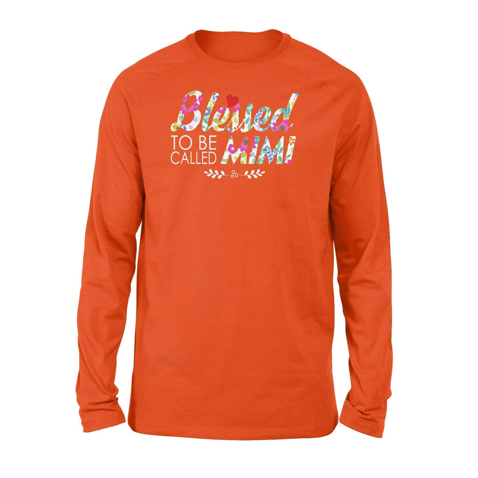 Blessed to be called Mimi - Standard Long Sleeve - Family Presents