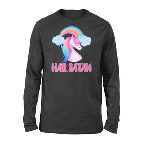Hail Satan Unicorn - Standard Long Sleeve - Family Presents
