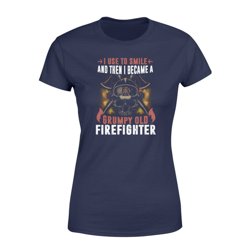 Grumpy Old Firefighter Women's T-shirt - Family Presents