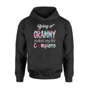 being a grammy makes my life complete - Standard Hoodie - Family Presents