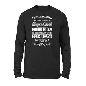 Super Cool Mother-in-law Long Sleeve - Family Presents