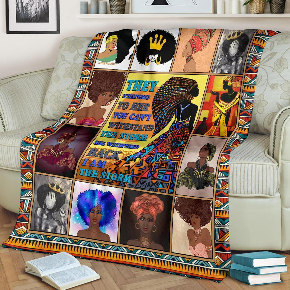 African Culture VII Blanket