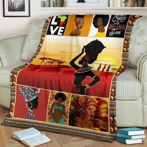 African Culture XV Blanket