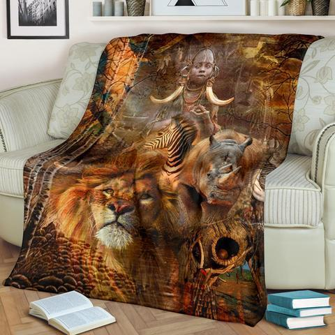 African Culture LXXIV Blanket
