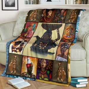 African Culture CXII Blanket