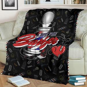 Barber Love Blanket