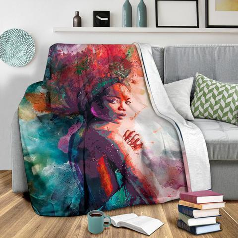 African Culture CLXVII Blanket