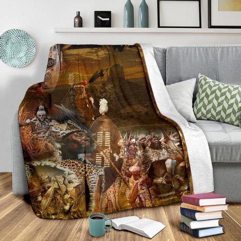 African Culture CXXI Blanket