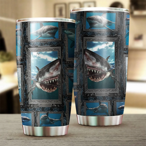 Shark Stainless Steel Insulated Tumbler Cups