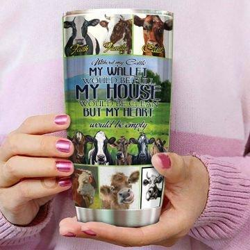 Cow My House Stainless Steel Insulated Tumbler Cups