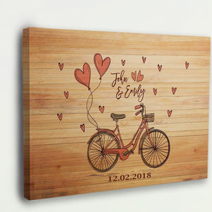 Riding Together Custom Canvas Wall Art