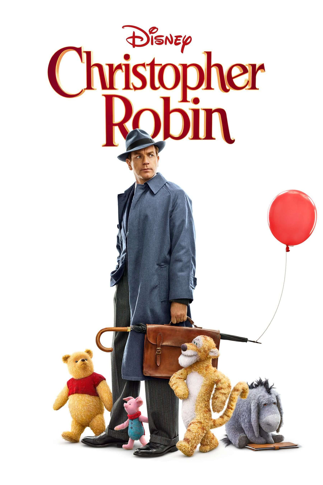 Christopher Robin | HD iTunes Code (Ports to Movies Anywhere) - Movie Sometimes