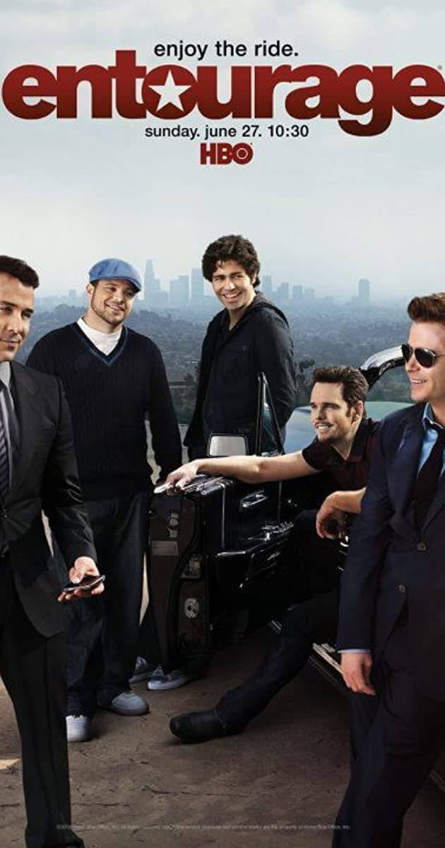 Entourage: The Complete Series | HD Vudu Code - Movie Sometimes