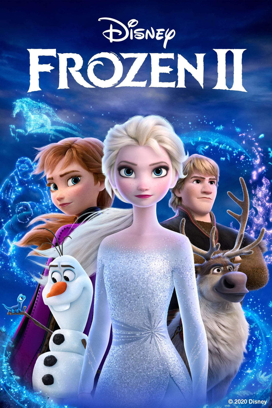 Frozen II | HD Google Play Code Ports to Vudu, iTunes via Movies Anywhere - Movie Sometimes