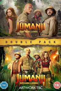 Jumanji: Welcome to the Jungle & The Next Level (Bundle) | HD Movies Anywhere Code Ports to Vudu, iTunes, GP - Movie Sometimes
