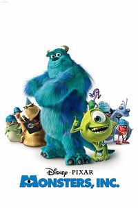 Monsters, Inc. | HD Google Play Code Ports to Movies Anywhere, Vudu, iTunes - Movie Sometimes