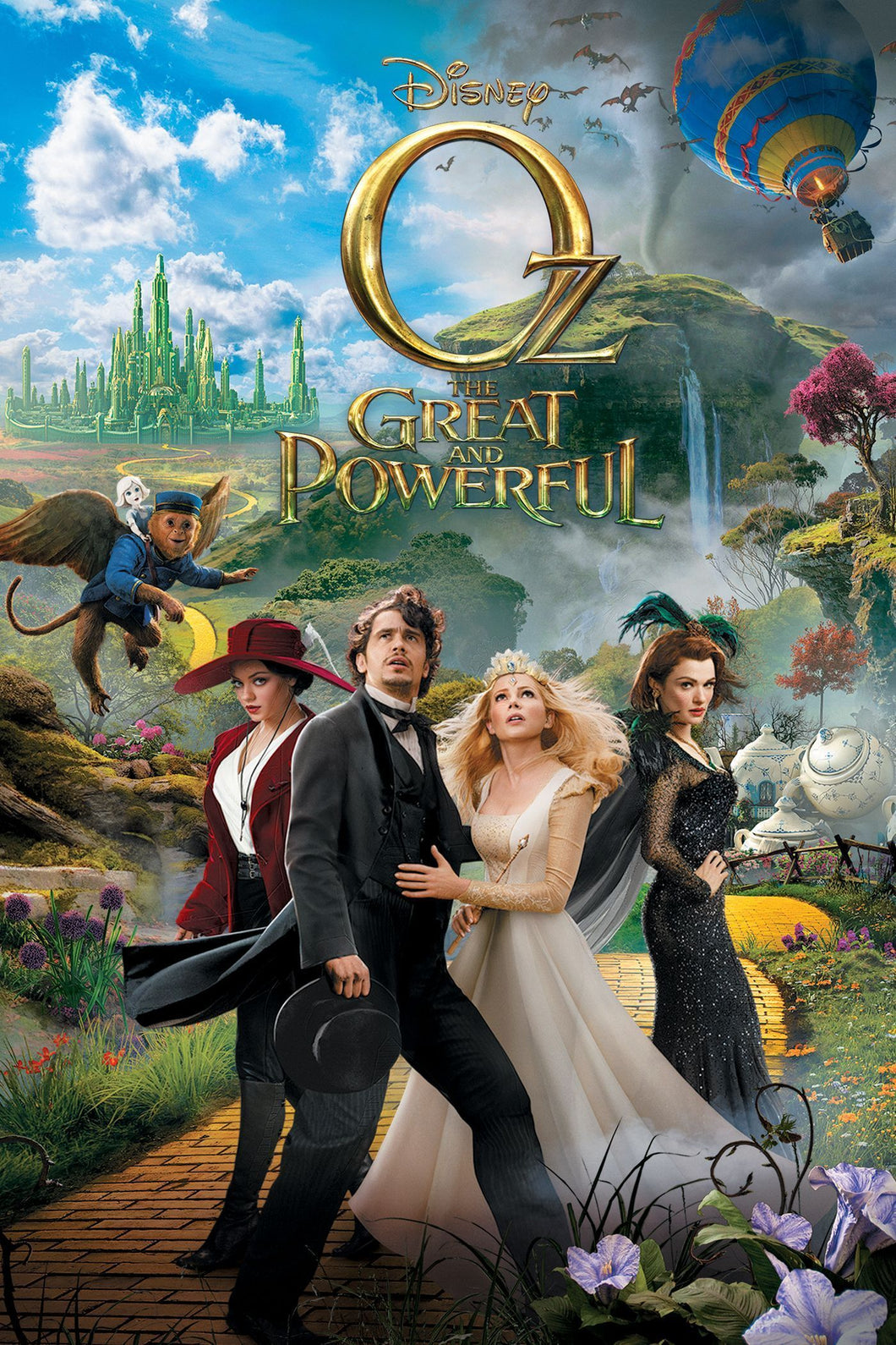 Oz the Great and Powerful | HD Movies Anywhere Code Ports to Vudu, iTunes, GP - Movie Sometimes