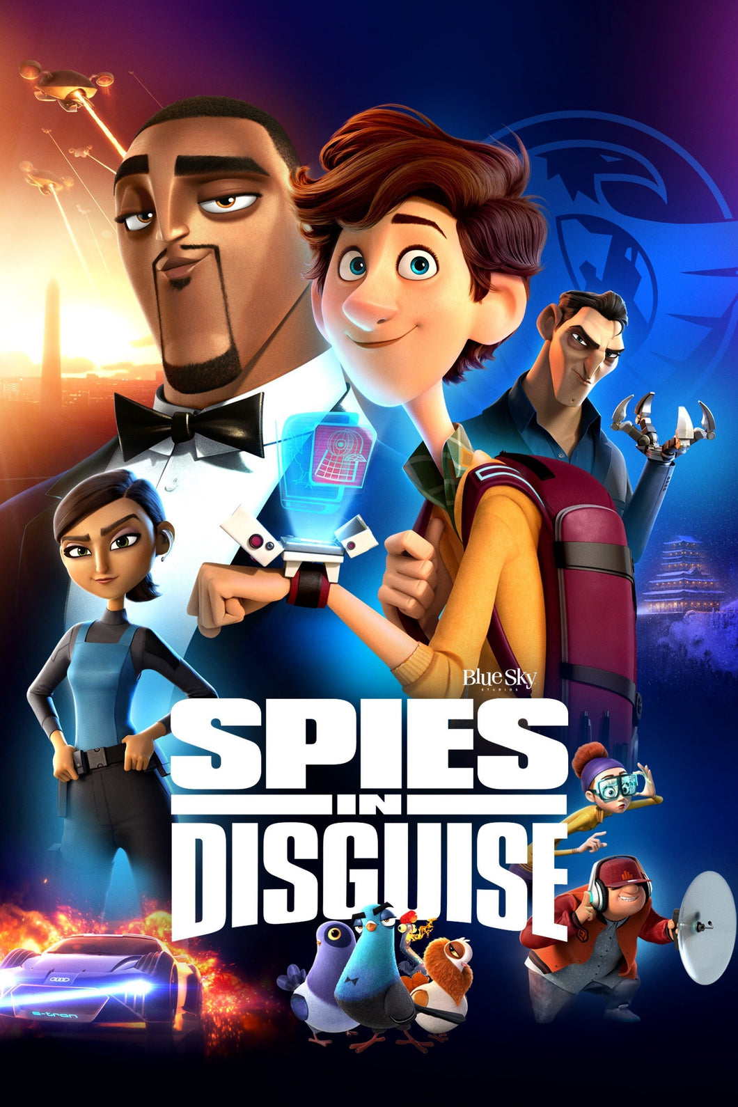Spies in Disguise | HD Movies Anywhere Code Ports to Vudu, iTunes, GP - Movie Sometimes
