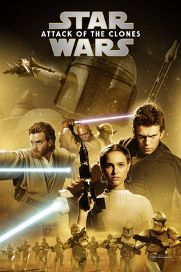 Star Wars: Attack of the Clones - Episode II | HD Google Play Code Ports to Movies Anywhere, Vudu, iTunes - Movie Sometimes