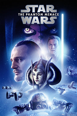 Star Wars: The Phantom Menace - Episode I | HD Google Play Code Ports to Movies Anywhere, Vudu, iTunes - Movie Sometimes