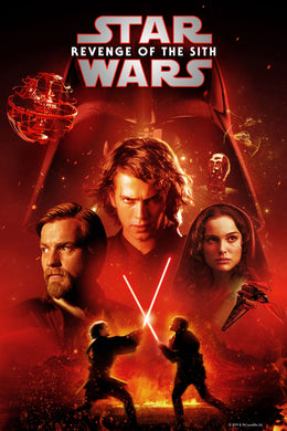 Star Wars: Revenge of the Sith - Episode III | HD Google Play Code Ports to Movies Anywhere, Vudu, iTunes - Movie Sometimes