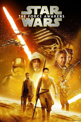 Star Wars: The Force Awakens | HD  iTunes Code Ports to Vudu, Movies Anywhere, GP - Movie Sometimes