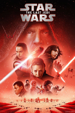 Star Wars: The Last Jedi | HD Google Play Code Ports to Movies Anywhere Vudu iTunes - Movie Sometimes