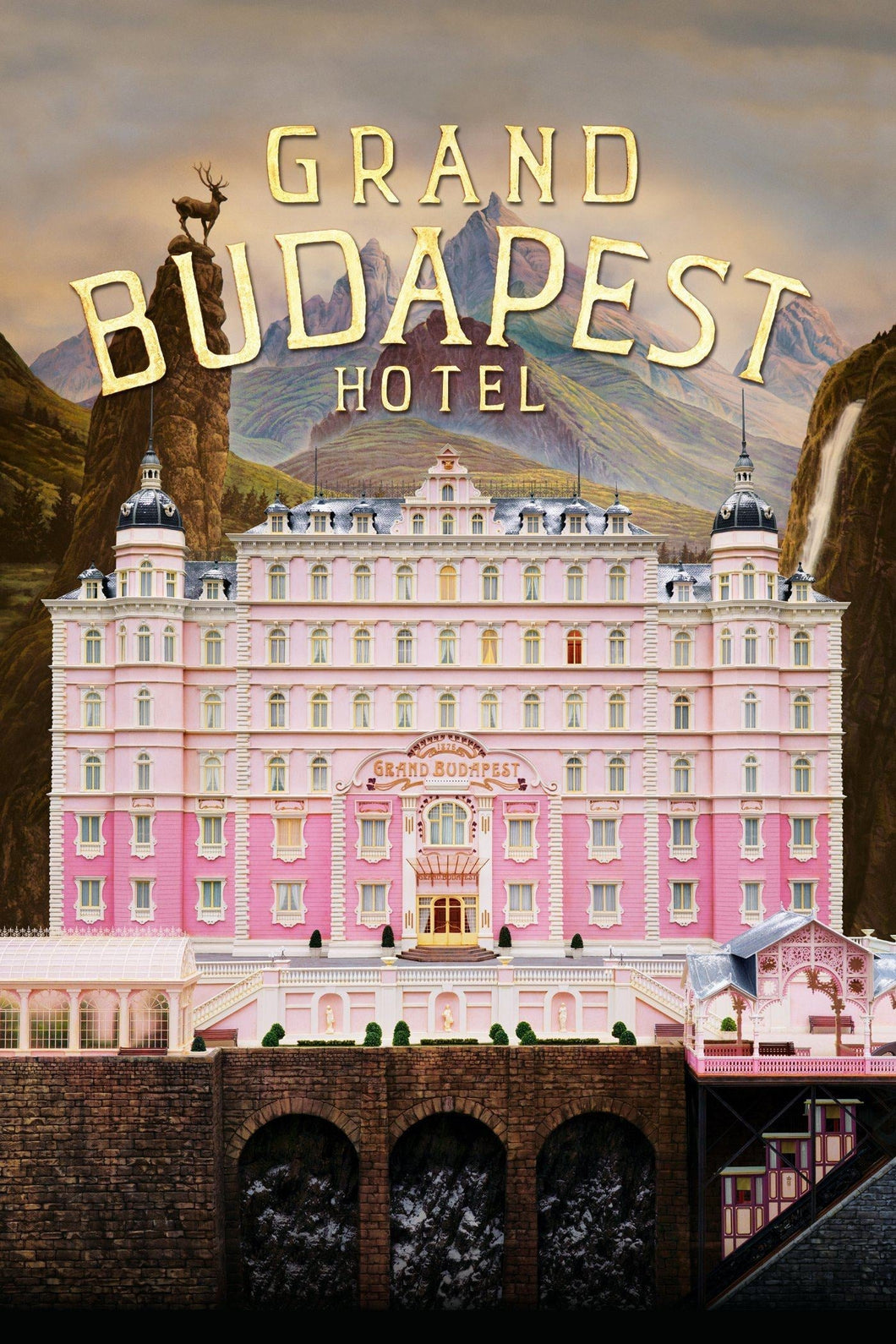 The Grand Budapest Hotel HD (GP)
