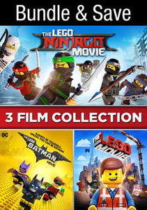 The LEGO Movie 3-Film Collection HD Movies Anywhere - Vudu, iTunes