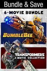 Transformers + Bumblebee 6-Movie Collection (Bundle)  | HD Vudu Code - Movie Sometimes