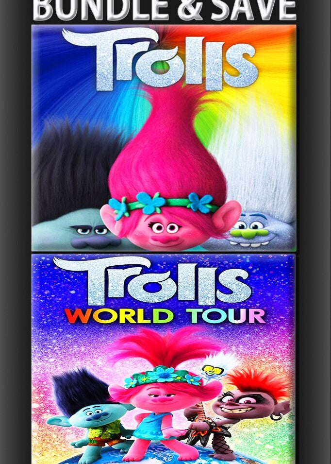 Trolls World Tour Bundle HD (MA/Vudu)