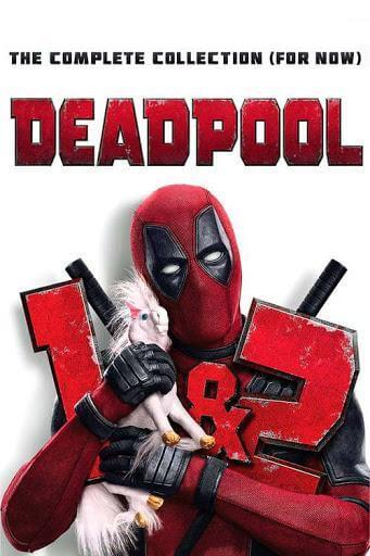 Deadpool 2-Movie Collection (Bundle)  | HD Movies Anywhere Code Ports to Vudu, iTunes, GP - Movie Sometimes